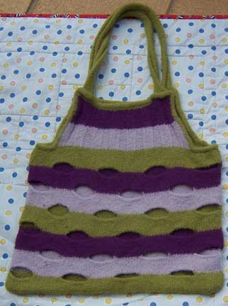 Bag-felted