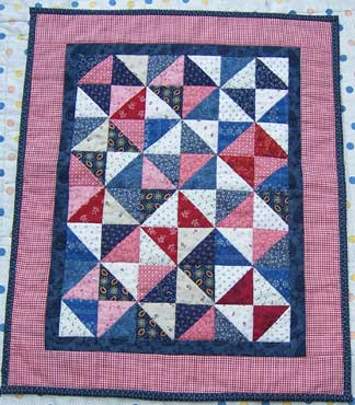 Dolls-quilt-quilted