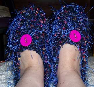 Slippers-finished