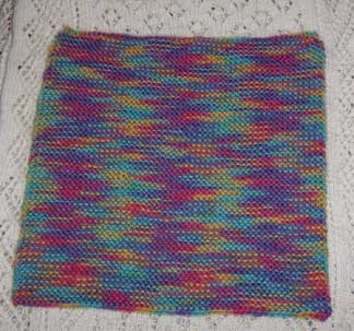 Knitted-square