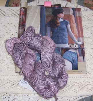 Slanting-tee---yarn