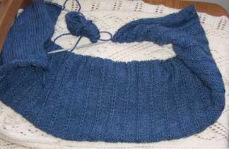 Blue-cardigan