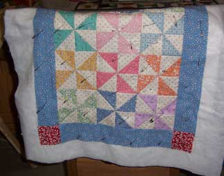 Pinwheels-quilt---quilting