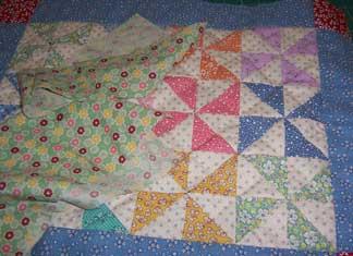 Pinwheels-quilt---binding