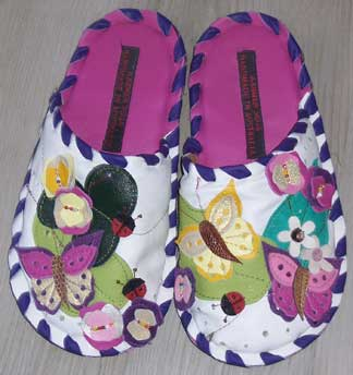 Slippers---pink