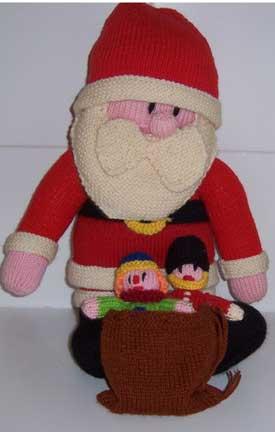 Knitted-santa