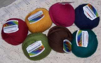 Crochet-rug---yarn