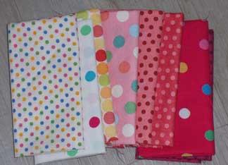 Spotty-fabric
