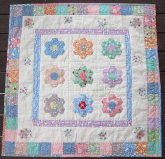 Moore Patchwork & Quilting: My Hexagon Garden : hexagon patterns for quilts - Adamdwight.com