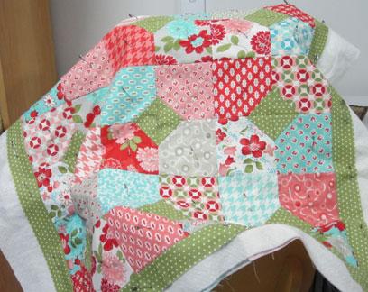 Napkin-quilt---quilting
