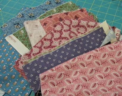 Hearts-fabric