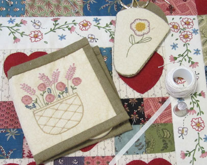 Hearts---quilting