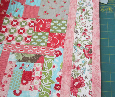 Leftovers-quilt---binding
