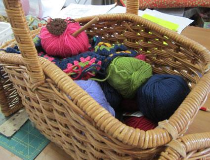Crochet-basket