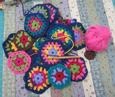 Crochet---hexagons