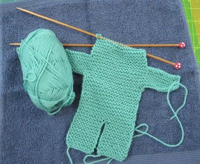 Teddy-bear-knit