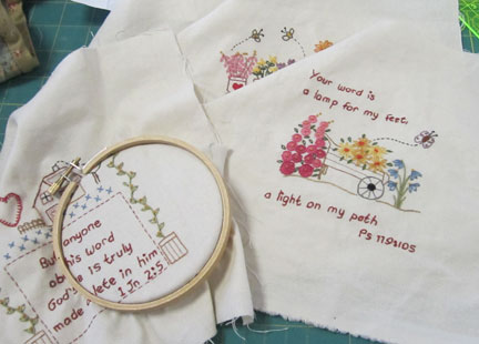 The-word---stitcheries-wip