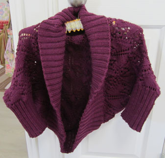 Knitting---cardigan