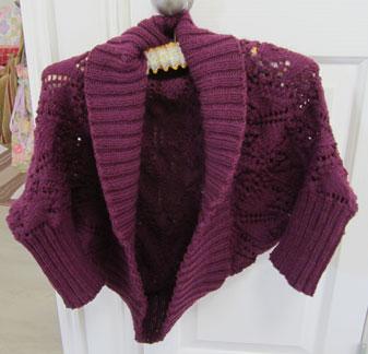 Knitting---cardigan