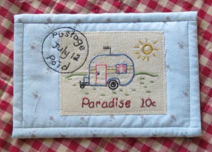 Postcard Swap - Postage Stamp